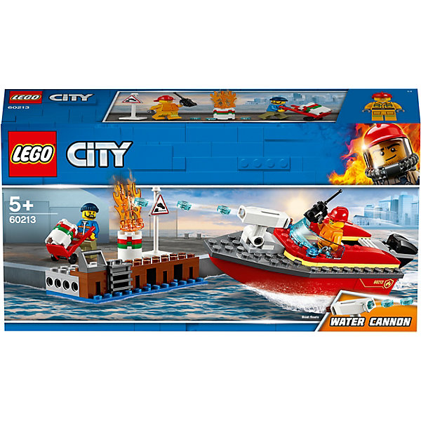 LEGO City Fire Пожар в порту 60213
