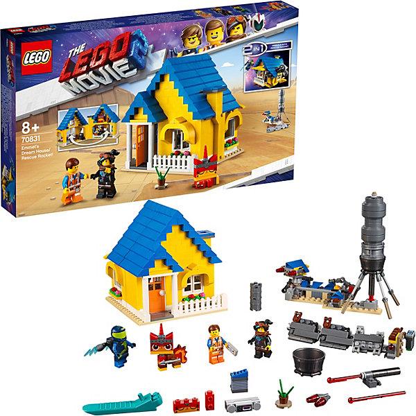 LEGO Movie Дом мечты / Спасательная ракета Эммета! 70831   9167547
