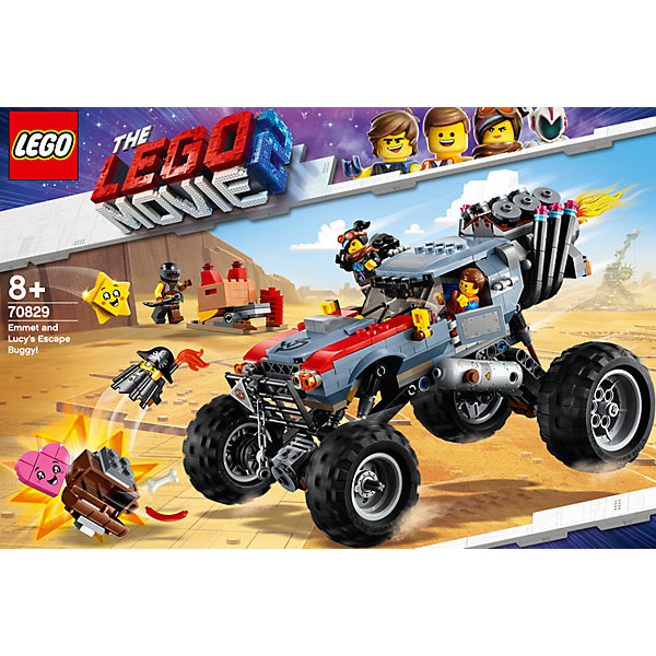 LEGO LEGO Movie Побег Эммета и Дикарки на багги 70829