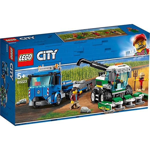 LEGO City Great Vehicles Транспортировщик для комбайнов 60223