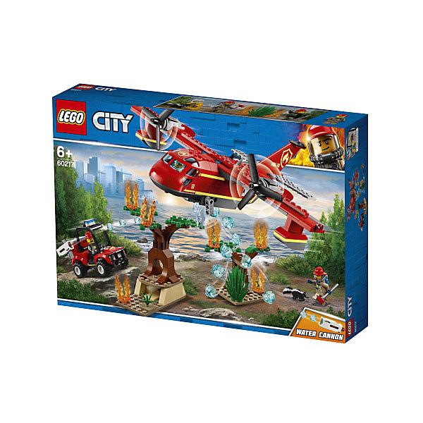 LEGO City Fire Пожарный самолёт 60217 конструктор lego 60108 city пожарная команда быстрого реагирования