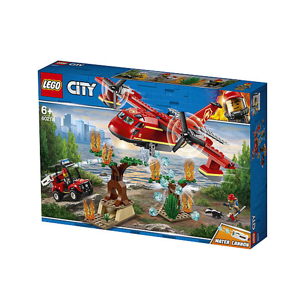 LEGO City Fire Пожарный самолёт 60217 цена