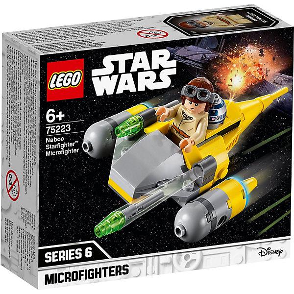 LEGO Конструктор Star Wars 75223: Микрофайтеры: Истребитель с планеты Набу