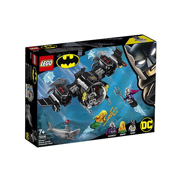 Купить Конструктор LEGO Super Heroes 76116: Подводный бой Бэтмена, Унисекс