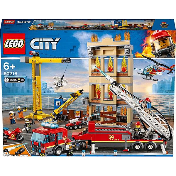 LEGO Конструктор City Fire 62016: Центральная пожарная станция