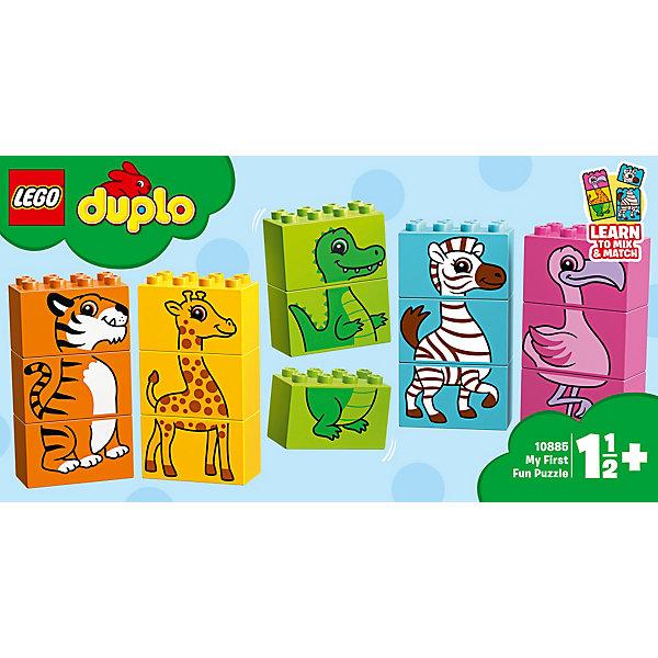LEGO DUPLO My First Мой первый паззл 10885 lego duplo my first основные элементы lego® duplo®