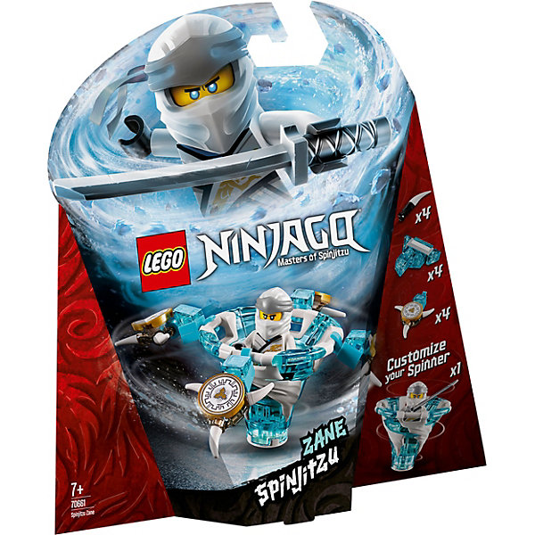 LEGO Конструктор Ninjago 70661: Зейн: мастер Кружитцу