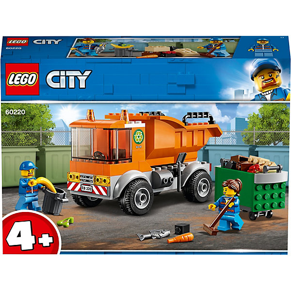 LEGO City Great Vehicles Мусоровоз 60220