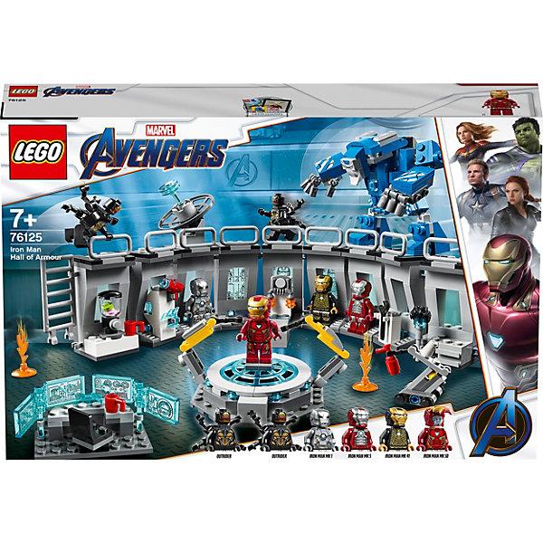 LEGO Конструктор Super Heroes 76125: Лаборатория Железного человека