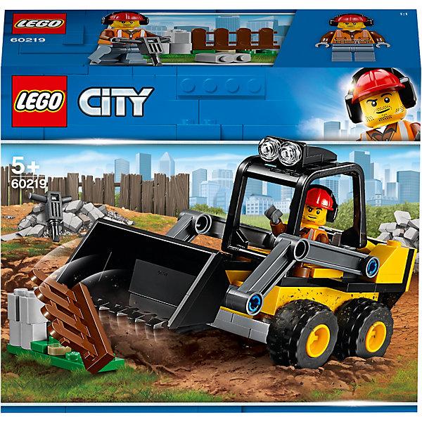 LEGO Конструктор City Great Vehicles 60219: Строительный погрузчик