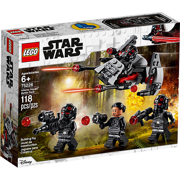 LEGO Конструктор Star Wars 75226: Боевой набор отряда Инферно