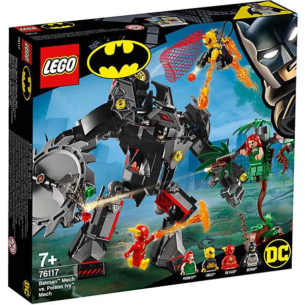 LEGO Конструктор Super Heroes 76117: Робот Бэтмена против робота Ядовитого Плюща