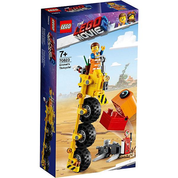 LEGO Movie Трехколёсный велосипед Эммета! 70823