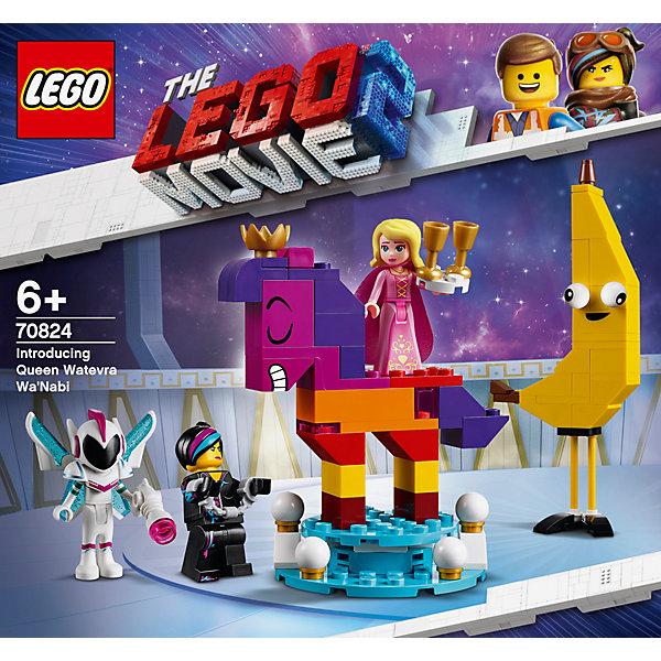 Конструктор LEGO Movie 70824: Познакомьтесь с королевой Многоликой Прекрасной Конструктор LEGO Movie 70824: Познакомьтесь с королевой Многолик