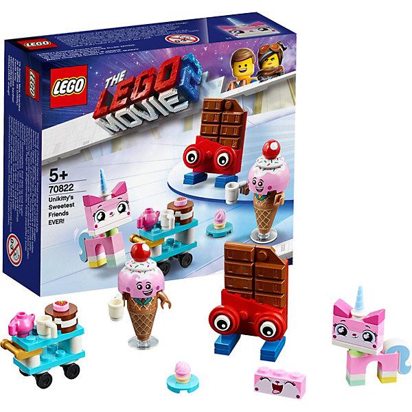 LEGO Movie САМЫЕ лучшие друзья Кисоньки! 70822