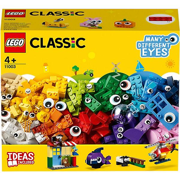 LEGO Конструктор Classic 11003: Кубики и глазки