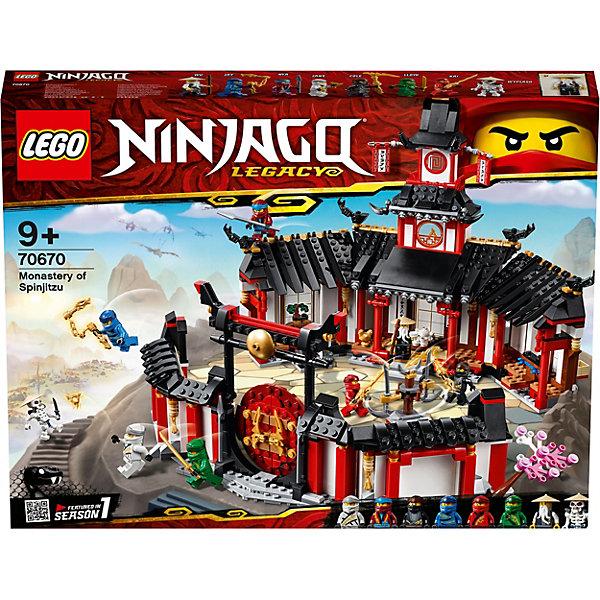 LEGO Конструктор Ninjago 70670: Монастырь Кружитцу