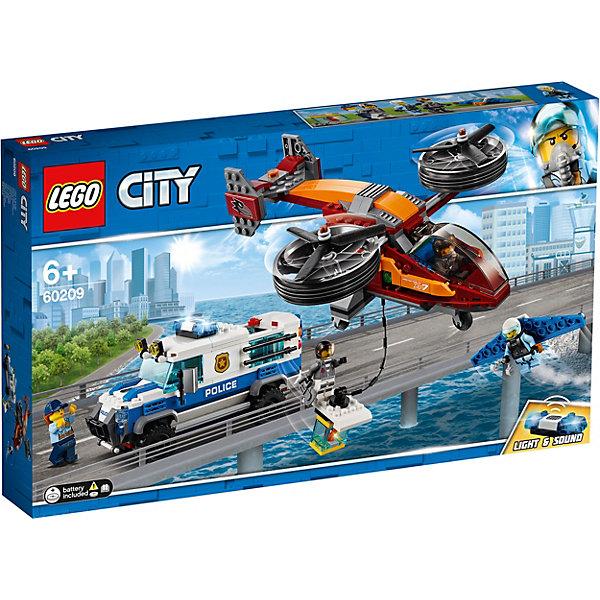 LEGO Конструктор City Police 60209: Воздушная полиция: кража бриллиантов