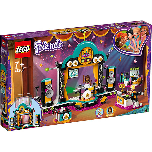 LEGO LEGO Friends Шоу талантов 41368 lego lego friends сцена андреа в парке