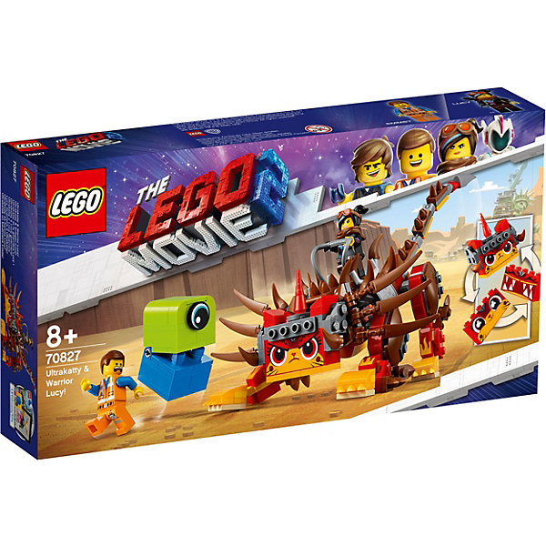 LEGO LEGO Movie Ультра-Киса и воин Люси 70827 борис свердлин киса