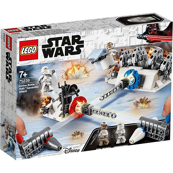 LEGO Разрушение генераторов на Хоте