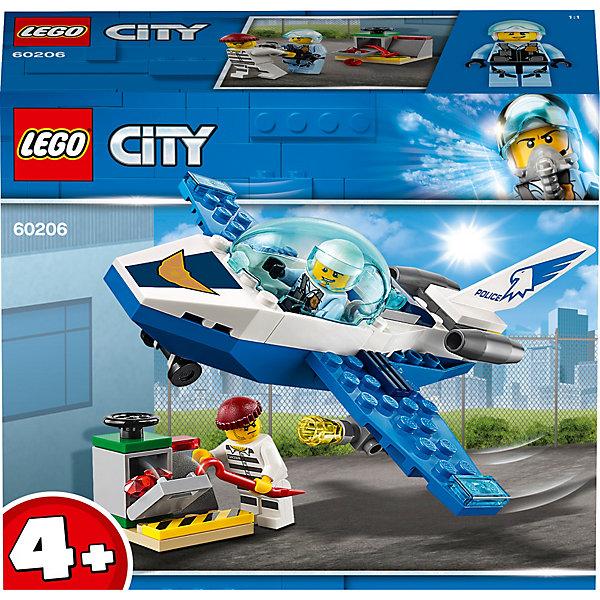 LEGO City Police Воздушная полиция: патрульный самолёт 60206 конструктор lego city патрульный самолёт 54 дет 60206