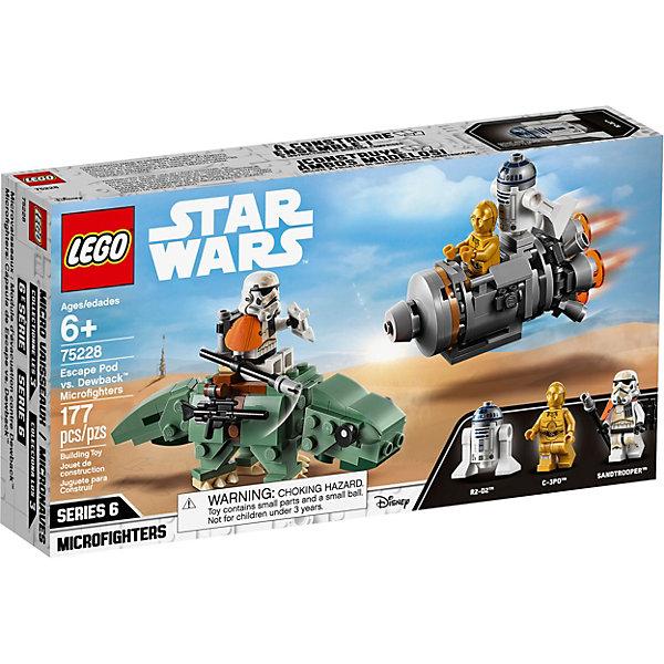 LEGO Конструктор Star Wars 75228: Спасательная капсула Микрофайтеры: дьюбэк