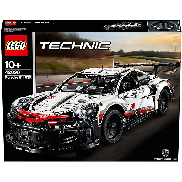 LEGO Конструктор Technic 42096: Porsche 911 RSR