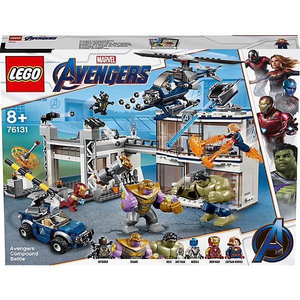 LEGO Конструктор Super Heroes 76131: Битва на базе Мстителей