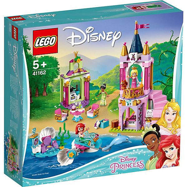 LEGO Конструктор Disney Princess 41162: Королевский праздник Ариэль, Авроры и Тианы