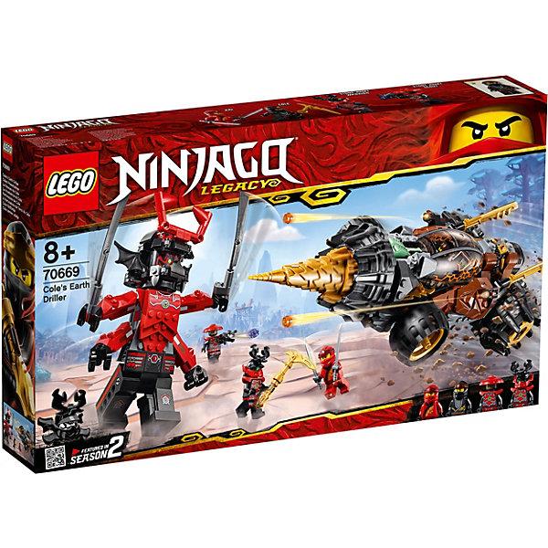 LEGO Конструктор Ninjago 70669: Земляной бур Коула