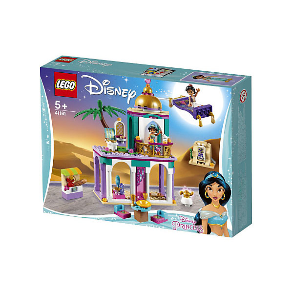 LEGO Конструктор Disney Princess 41161: Приключения Аладдина и Жасмин во дворце
