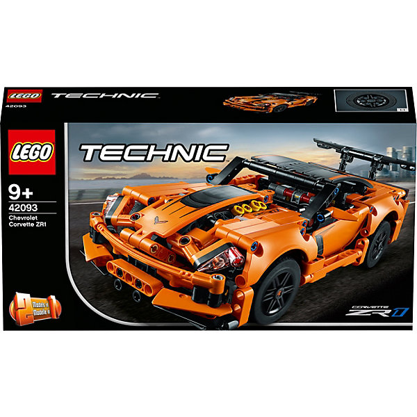 LEGO Technic Chevrolet Corvette ZR1 42093 рыжий кот модель автомобиля chevrolet corvette c6 r