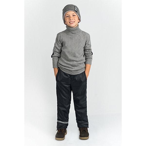 Брюки BOOM by OrbyВерхняя одежда<br>Характеристики товара:<br><br>• пол: мальчики;<br>• ткань верха: таффета (100% ПЭ);<br>• подкладка: флис (100% ПЭ);<br>• сезон: демисезон;<br>• температурный режим: +2 ... +15°С;<br>• светоотражающий элемент на брючине;<br>• два кармана;<br>• эластичная резинка на поясе;<br>• модель: прямой крой;<br>• страна бренда: Россия.<br><br>Брюки BOOM by Orby для мальчика - незаменимая вещь на межсезонье. Идеальная посадка модели, со светоотражающим элементом на брючине. Выполнены из практичной и износостойкой ткани, модель брюк прямого кроя. Теплые брюки лаконочного цвета - идеальный вариант для прогулок, сочетаемый с большим количеством верхней одежды и обувью.