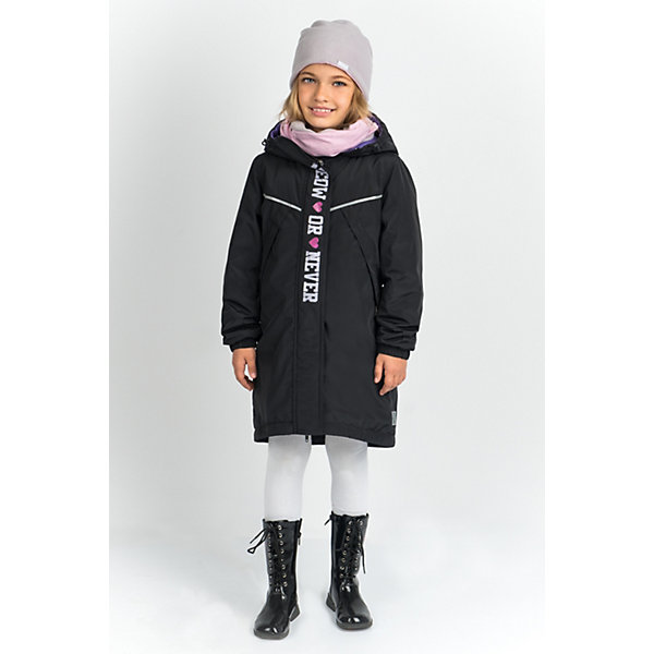 BOOM by Orby Куртка-парка BOOM by Orby для девочки куртка для девочки boom цвет голубой 80006 bog размер 164