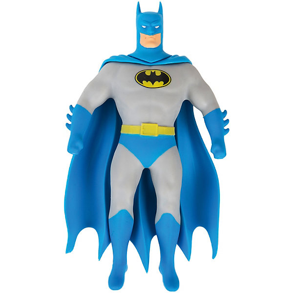Тянущаяся минифигурка Stretch Armstrong Бэтмен СтретчГерои комиксов<br>Характеристики:<br><br>• возраст: от 5 лет;<br>• высота игрушки: 23 см;<br>• вес упаковки: 330 г;<br>• размер упаковки: 25х19,5х6 см;<br>• страна бренда: США;<br>• упаковка: закрытая.<br><br>Эластичная игрушка Stretch Armstrong «Бэтмэн Стретч» тянется и скручивается во все стороны. Фигурка растягивается до 4 раз и легко принимает первоначальную форму. Чтобы фигурка осталась в определенной позе, можно выкачать из нее воздух с помощью головы-насоса. Игрушка отличается высокой прочностью, ее практически невозможно повредить.
