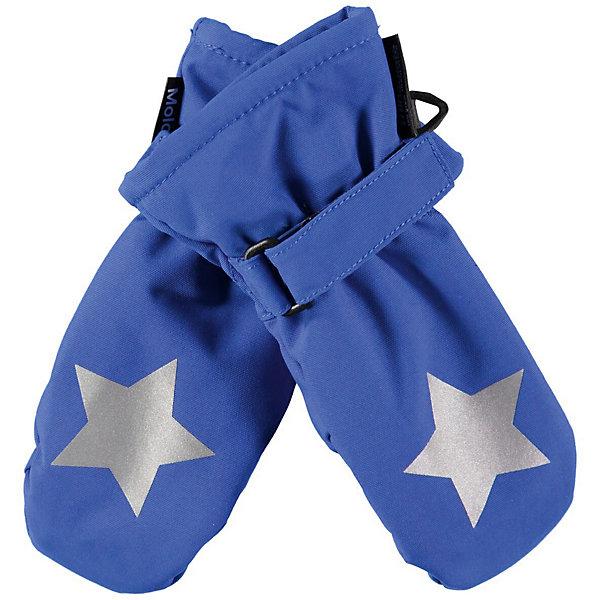Molo Варежки Molo варежки для мальчика jack wolfskin fleece mitten kids цвет темно синий 1901871 1910 размер 116