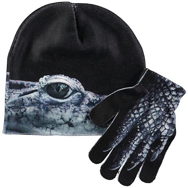 Molo Комплект: шапка и перчатки Molo для мальчика
