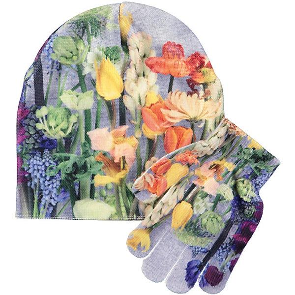 Molo Комплект: шапка и перчатки Molo для девочки