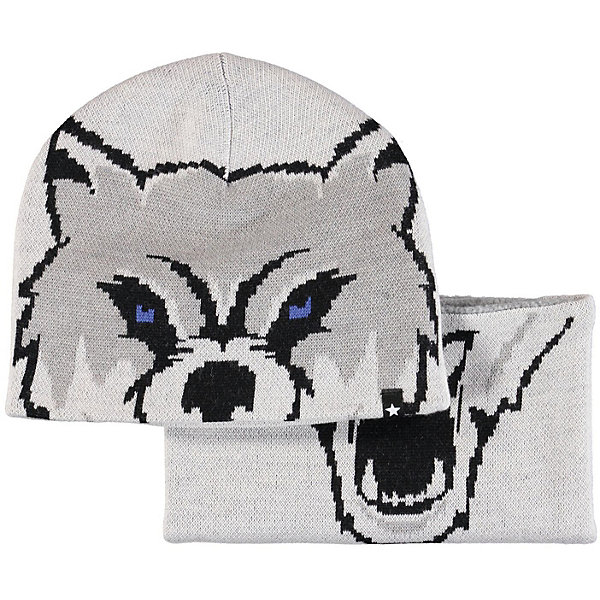 Molo Комплект: шапка и шарф Molo для мальчика юбка белая с принтом molo ут 00012872