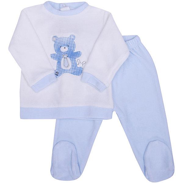 Комплект:футболка с длинным рукавом,брюки iDO для мальчикаКомплекты<br>Характеристики товара:<br><br>• цвет: кремовый;<br>• комплектация: ползунки, лонгслив;<br>• состав ткани: 75% хлопок, 25% полиэстер;<br>• сезон: демисезон;<br>• длинные рукава;<br>• застежка: кнопки;<br>• талия: резинка, шнурок;<br>• страна бренда: Италия.<br><br>Детская одежда от известного бренда iDO (Идо) из Италии - это стильные изделия, отличающиеся высоким качеством. Удобный комплект для детей создан специально для самых маленьких. Такой комплект от iDO для ребенка - универсальная одежда для ношения каждый день. Детские ползунки комфортно сидят благодаря мягкой резинке в талии. Футболка с длинным рукавом для детей украшена симпатичным медведем.