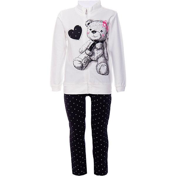 iDO Комплект:футболка с длинным рукавом,брюки iDO для девочки ido толстовка ido для девочки