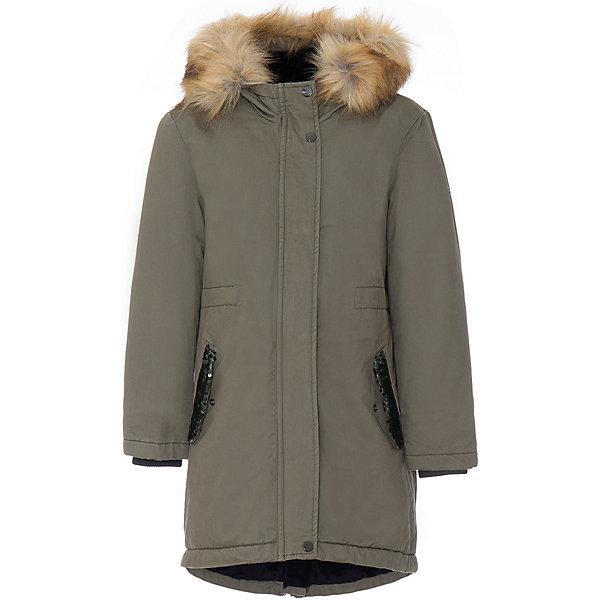 Купить Куртка iDO для девочки, Китай, зеленый, 128, 152, 164, 140, 170, Женский