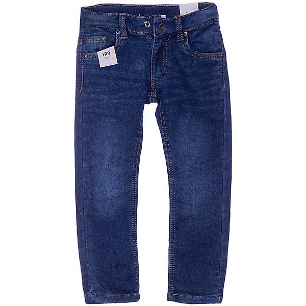 iDO Джинсы iDO для мальчика джинсы для мальчика oldos ковбой цвет синий 6o8jn09 размер 74 9 месяцев