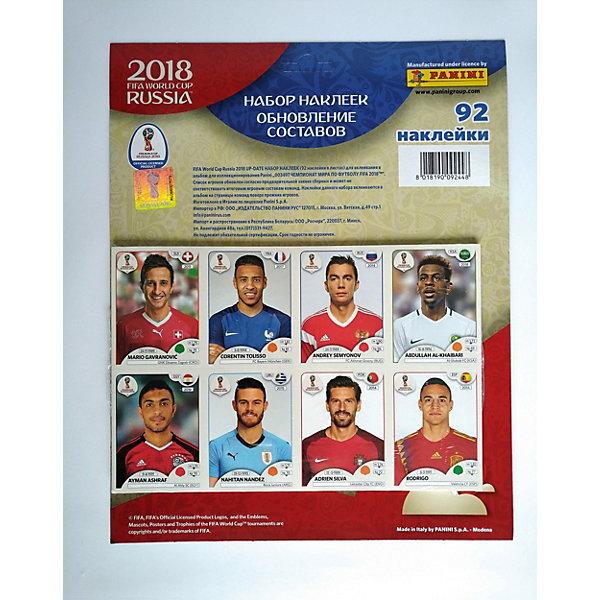 Panini Набор наклеек Чемпионат мира по футболу FIFA-2018, 92 наклейки,