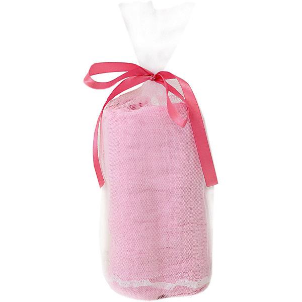 Baby Nice Пеленка муслиновая Baby Nice розовая подарочный набор lulujo под парусом sailing softly муслиновая простынка 120х120 см 2 мини муслина 70х70 см 1 муслиновая тряпочка для мытья 45804