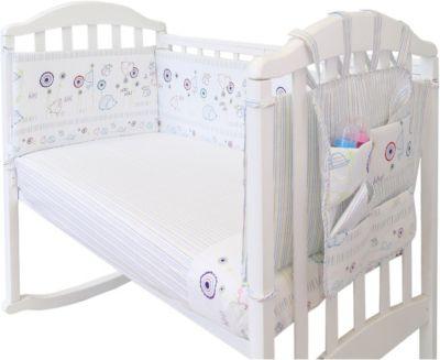 Борт в кроватку с органайзером Baby Nice  Ежик , артикул:9339235 - Детский текстиль