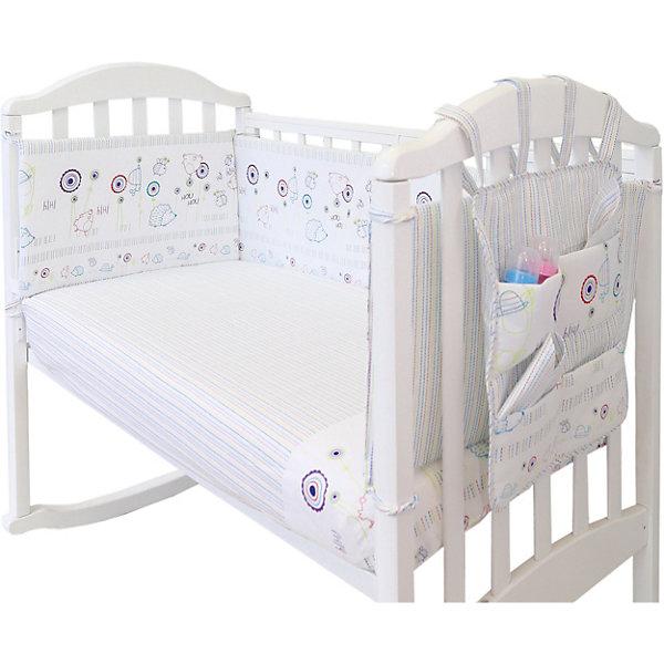 Baby Nice Борт в кроватку с органайзером Baby Nice
