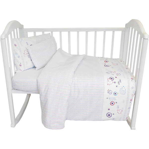 Baby Nice Комплект постельного белья Baby Nice Ежик постельное белье для малышей baby nice наволочка baby nice 60х40