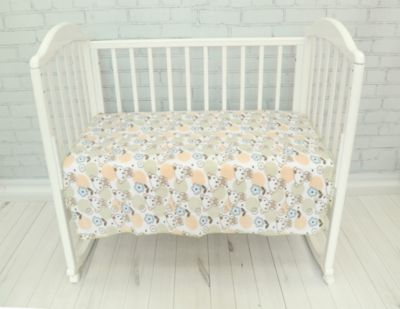 Плед флисовый Baby Nice  Мишки  бежевый, артикул:9339557 - Детский текстиль